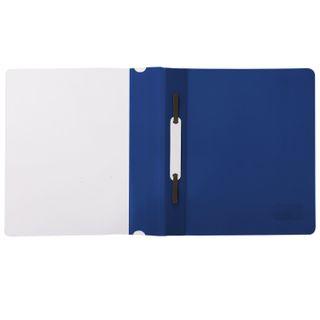 Folder plastic SMALL FORMAT (160х228 mm), A5 BRAUBERG, 130/180 µm, blue