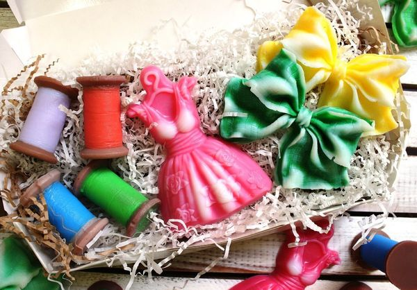 Set of handmade soap Craftswoman