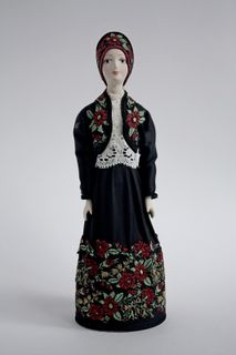 Doll gift. Costume of Voronezh province