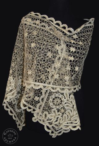 Scarf womens lace С669