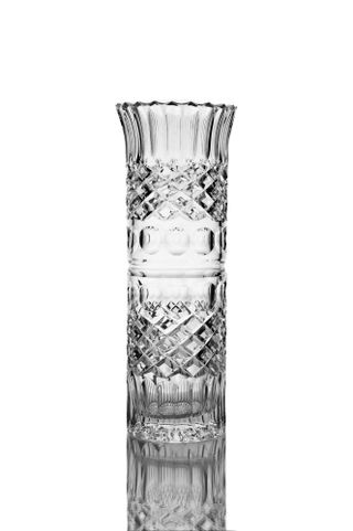 "Crystal vase for flowers ""Beads"" medium colorless"