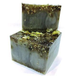 Handmade bar soap with herbs Immortelle 1kg