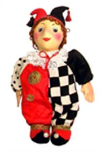 Doll gift. Clown.
