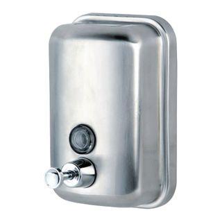 KSITEX / Liquid soap dispenser, stainless steel, matt, 1 l