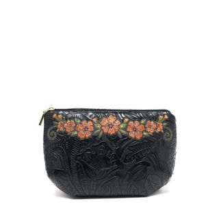 "Cosmetic bag with zipper ""Clivia"""