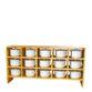Storage rack of children's pots - view 1