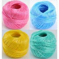 Twine of synthetic fibers