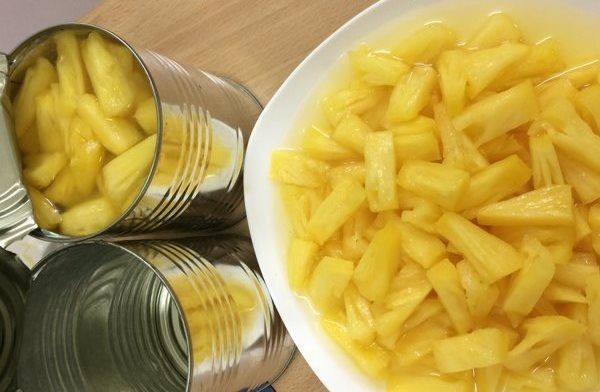 Canned Queen Pineapple Tidbits