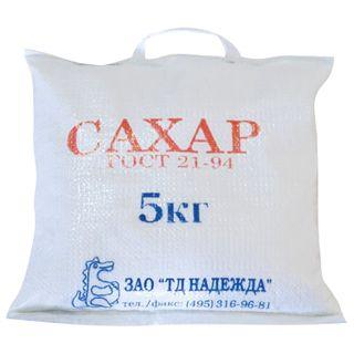 Granulated sugar 5 kg, bag