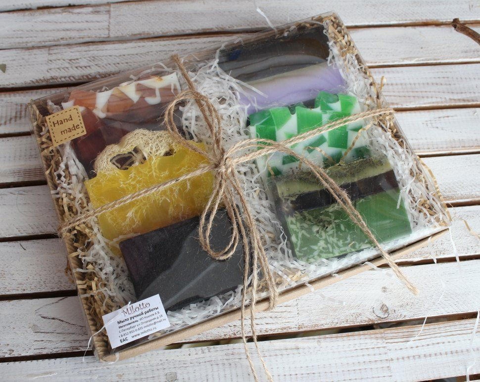 Force of nature - a male set of handmade soap