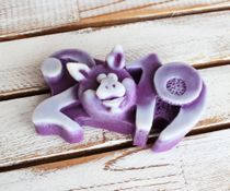 Handmade soap Digit 2019 Pig mix of colors and aromas