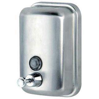 KSITEX / Liquid soap dispenser, stainless steel, matt, 0.5 l