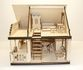 EcoHouseKids - designer toy house and dollhouse 2in1 - view 4