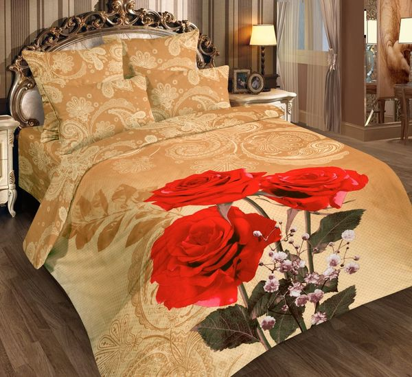 Satin bed linen 3D tango
