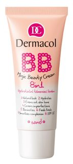 This multi-action cream for skin beauty No. 4 Sand , Dermacol BB Magic Beauty cream 8in1