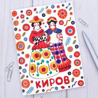 """Notepad """"Kirov"""" Dymkovo toy, 32 sheets"""