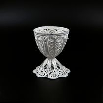 Kazakovskaya Filigree / Egg stand Morning silvering