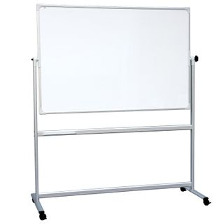 Board magnetic marker ON the STAND (100x170 cm), 2-party, EDUCATION,