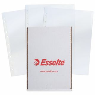 Folders, files, perforated, A4 ESSELTE Standard package 100 PCs., high-gloss, 55 micron