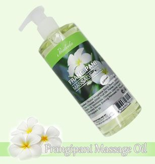 Frangipani massage oil