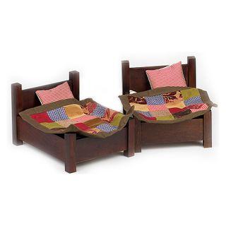 Birgitte Frigast / Large bed, bedding