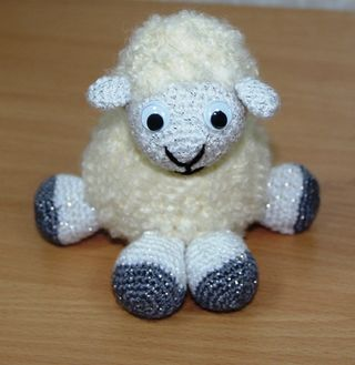 Sheep - a soft toy