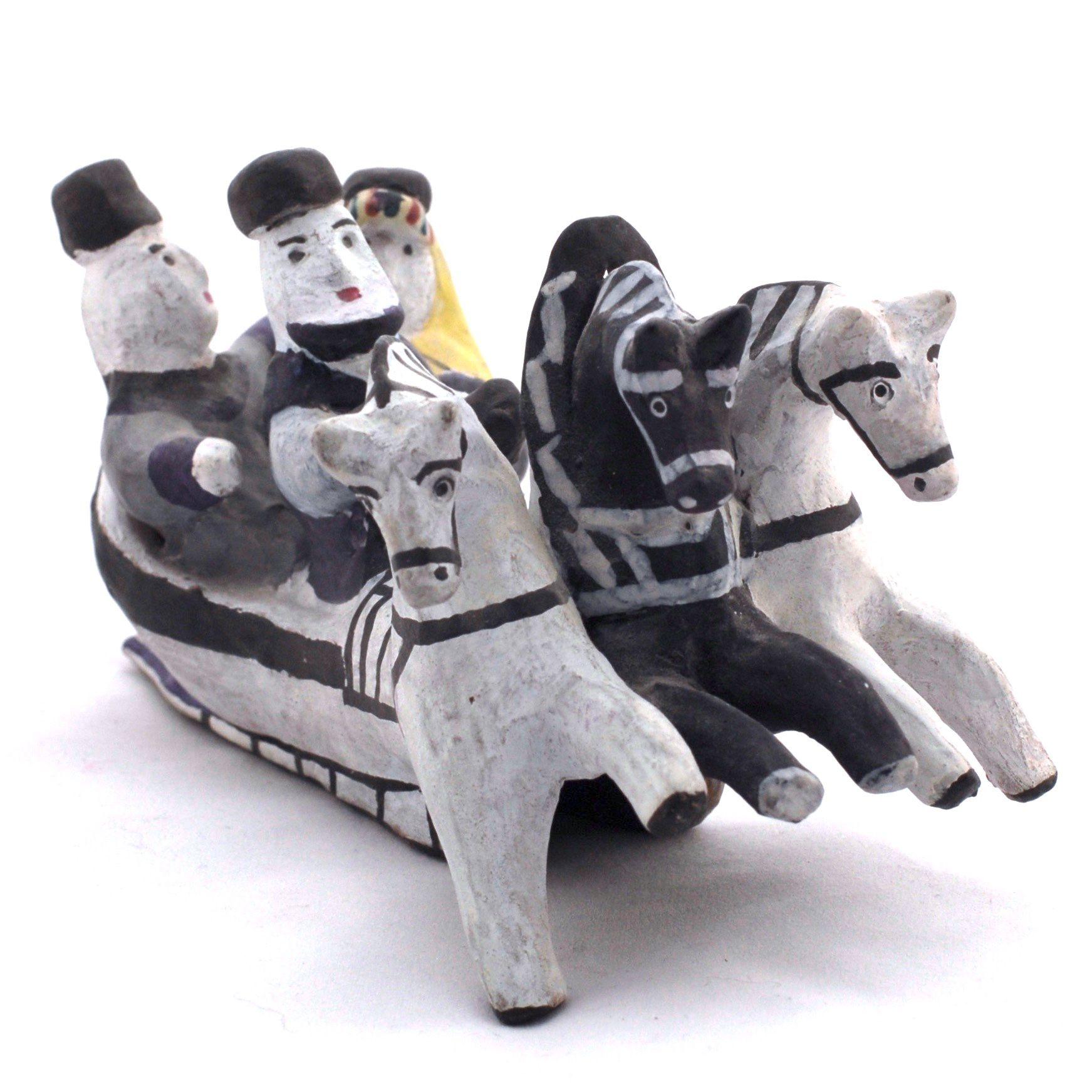 Kargopol clay toys Threesome