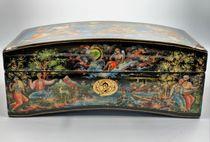 The casket Palekh 'Crimean fancy' master Burdakov