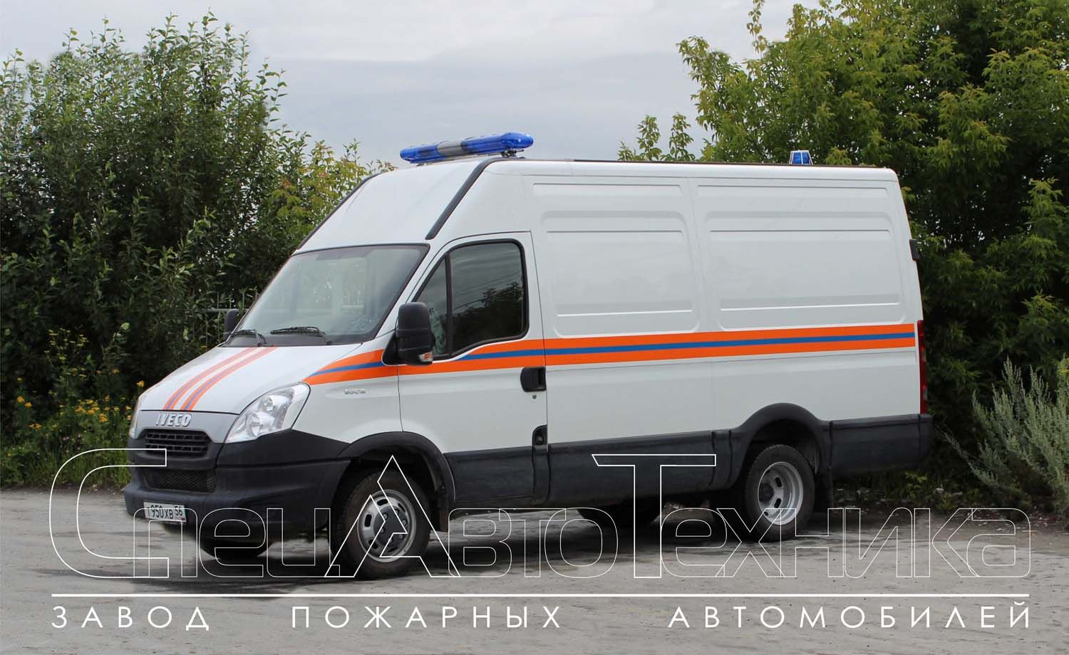 Rescue vehicle based on IVECO ACM-7