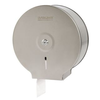 LIME / Toilet paper dispenser PROFESSIONAL ECONOMY (T2 System), small, stainless steel, matt