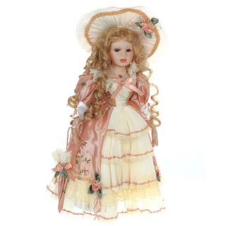 Porcelain doll Alla