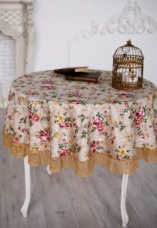 Tablecloth with lace Anastasia