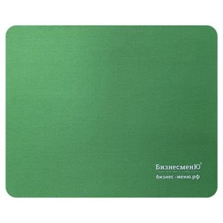 BUSINESSMENU / Mouse pad rubber + fabric, 220x180x3 mm