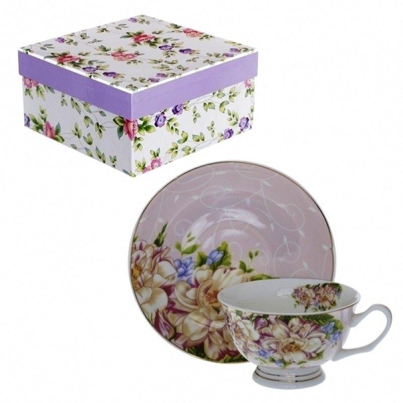 """Tea pair """"Fantasia"""" in gift package"""