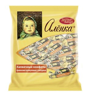 Candies Alenka peanut-sesame with glaze, 250 gr