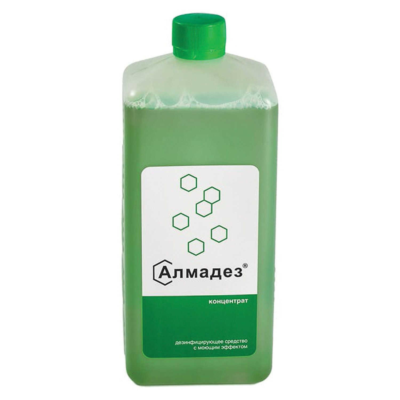 ALMADEZ / Detergent disinfectant, concentrate, 1 l, lid