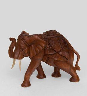 Figurine wooden Elephant 27 cm