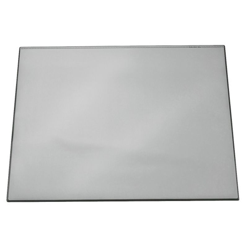 Durable / Tabletop cover with a transparent layer, rectangular, 520 х 650 mm, PVC Gray