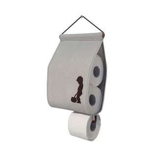 Universal scroll / Wall-mounted organizer for toilet