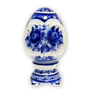 Egg gift small 1st grade, Gzhel Porcelain factory