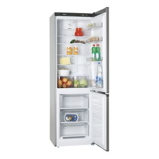 ATLANT 8421-089ND, FullNoFrost, two-camera, 312 litre, bottom freezer 104 litres, silver