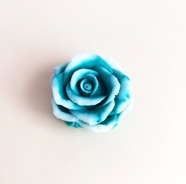 Handmade soap Turquoise rose
