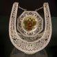 Souvenir Horseshoe silvering, Kazakovskaya Filigree - view 1