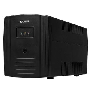 SVEN / Uninterruptible Power Supply Pro 1000, 1000VA (720W), 3 Euro sockets, 2 RJ45 sockets