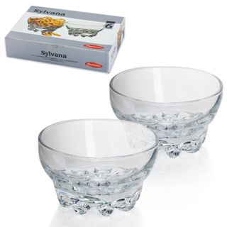 PASABAHCE / Set of salad bowls / bowls