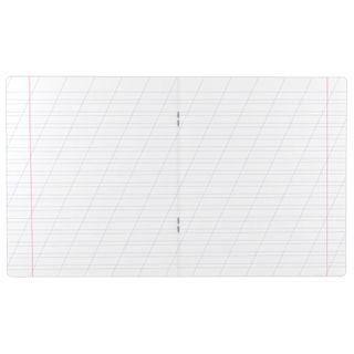 Notebook, 12 sheets, ERICH KRAUSE, oblique line, cover cardboard,