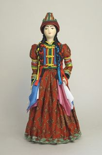 Doll gift. Buryat woman costume (style)