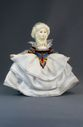 Doll gift porcelain. The lady in white. - view 1