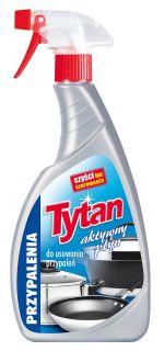 Liquid for removal of burnt substances Titanium spray (500 g)