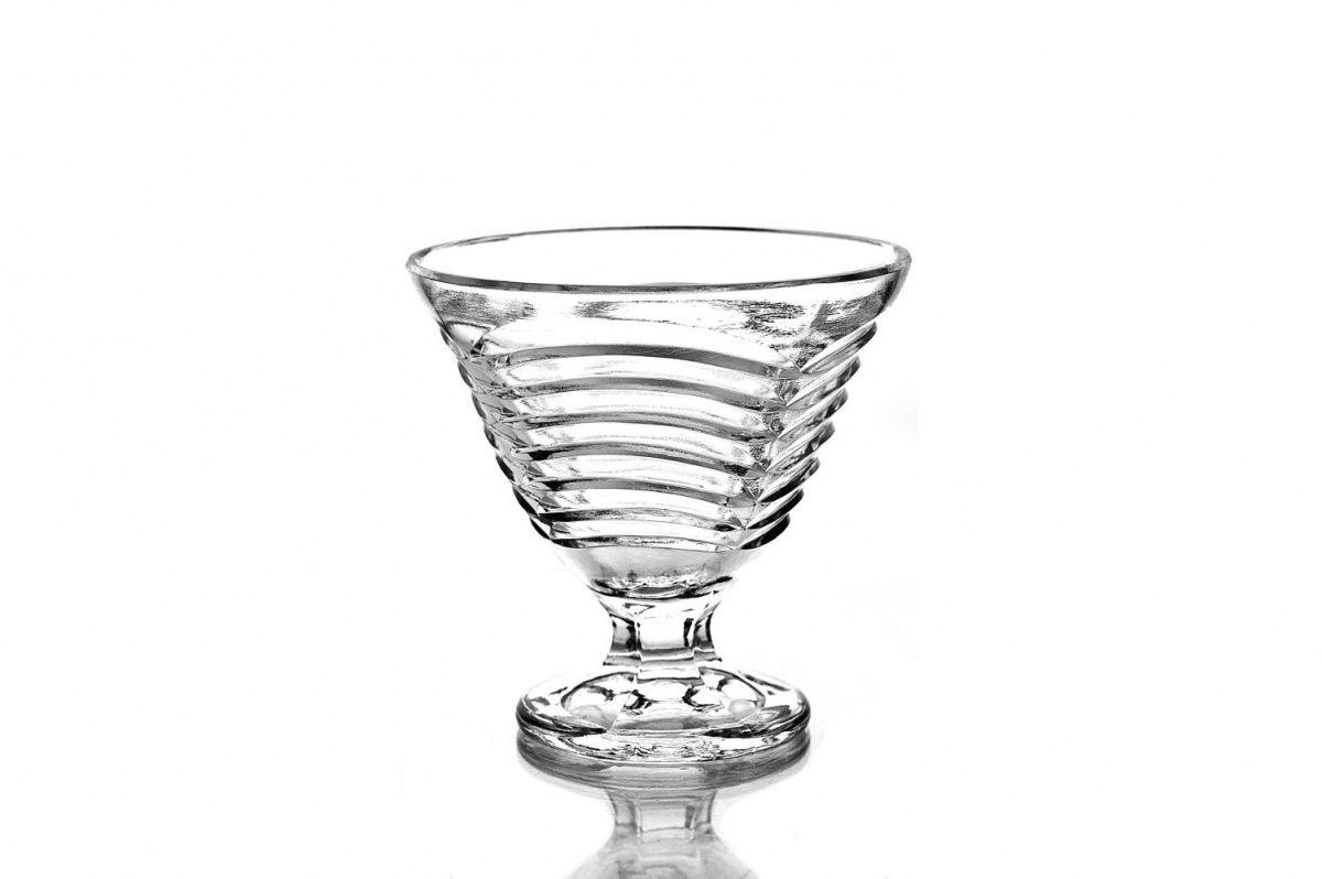 "Crystal vase for cream ""Openwork"""